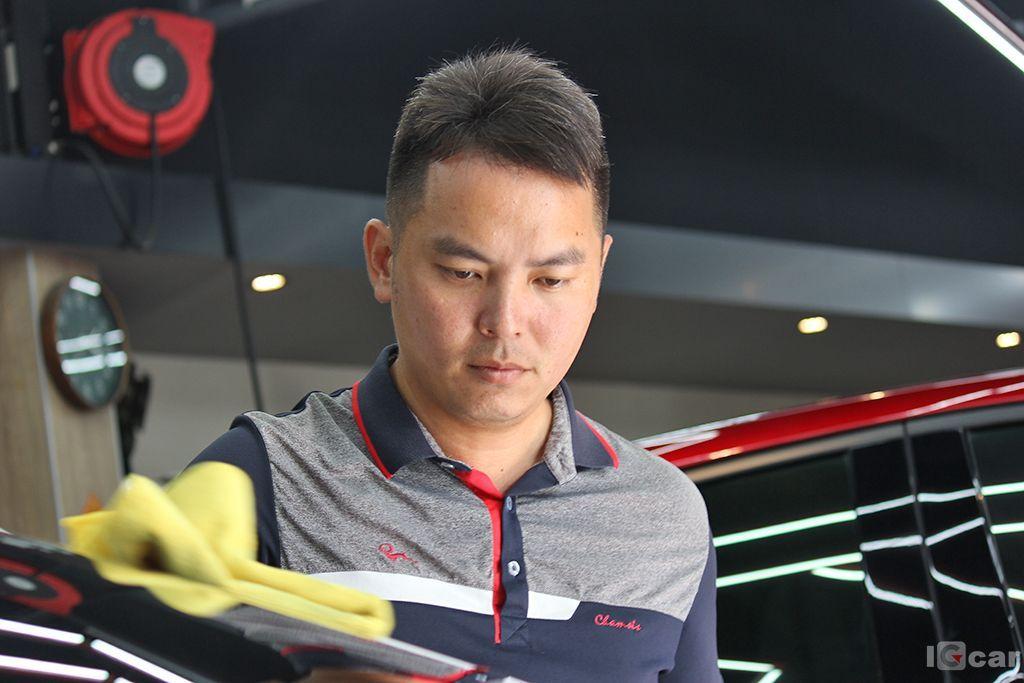 愛駒職人 台南達特專業車體鍍膜美學館