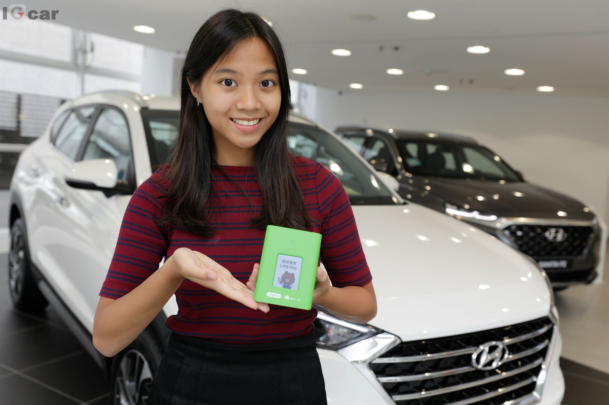 IGcar 愛駒資訊 Hyundai 南陽實業 LINE Pay